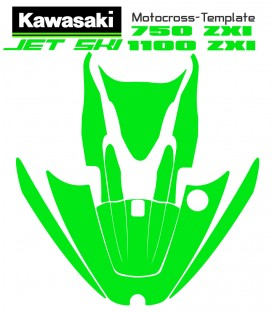 mototemplate.com offer kawasaski jetski template 750-1100 ZXI