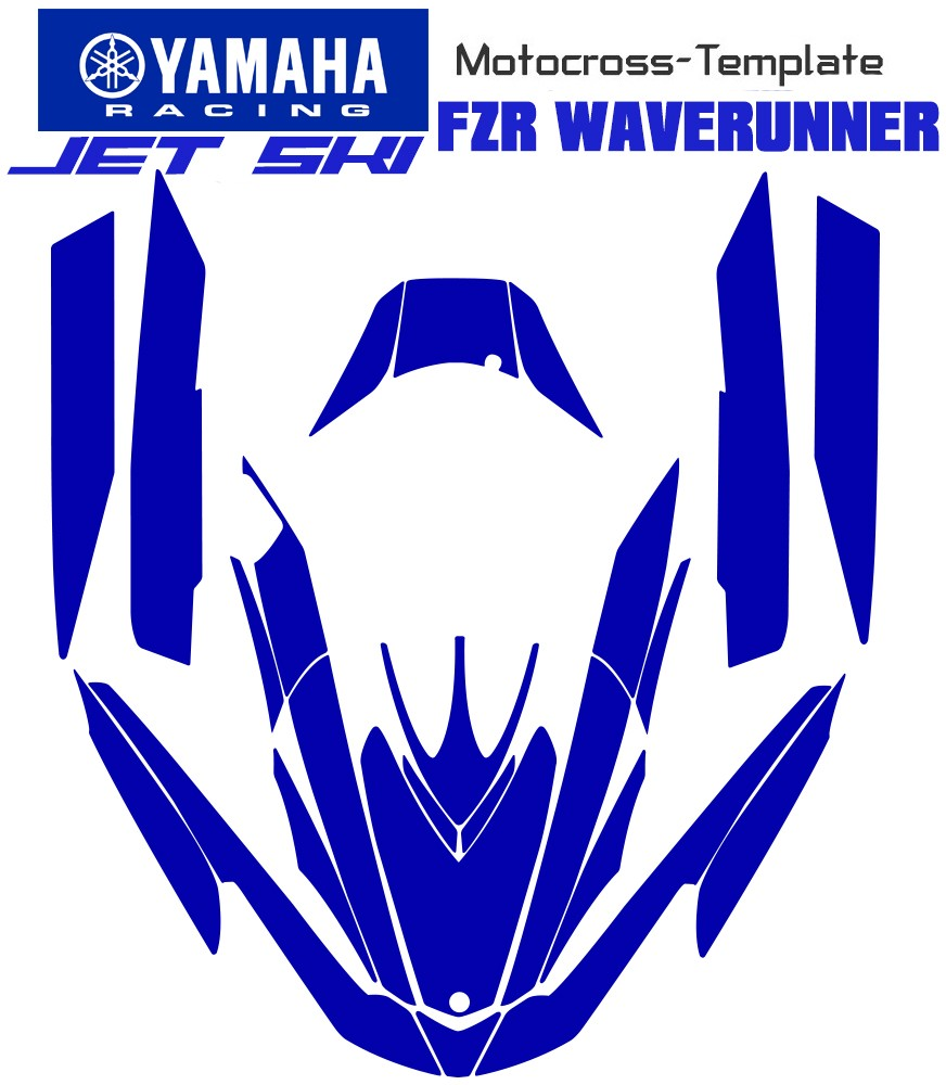 mototemplate.com offer jetski template FZR WAVERUNNER yamaha