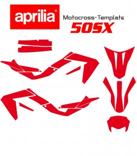 motocross template for aprilia 50sx sx50 on mototemplate.com