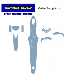 Trial template SHERCO from 2002-2003-2004-2005 on mototemplate.com