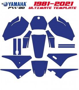ULTIMATE MOTOCROSS TEMPLATE for pw80 dirt bikes on mototemplate.com