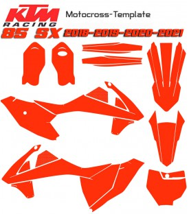 Motocross template 85sx sx 85 85sx 2018-2019-2020-2021 on mototemplate.com